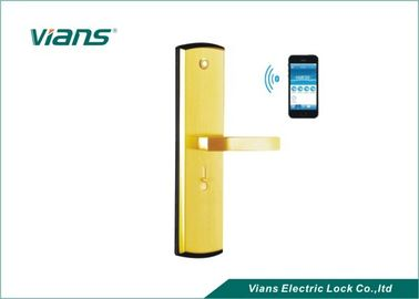 Digital Wifi Bluetooth Door Lock With Handle , Smartphone Door Lock With Remote